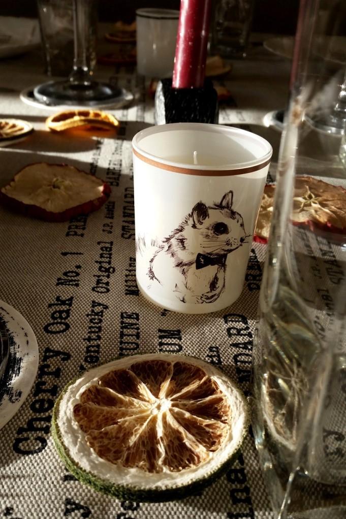 Vai nav jauka svecīte? :) *** How cute is this candle? :)